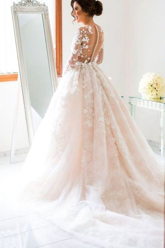 colored-wedding-dresses-2017-104 75+ Most Breathtaking Colored Wedding Dresses in 2020