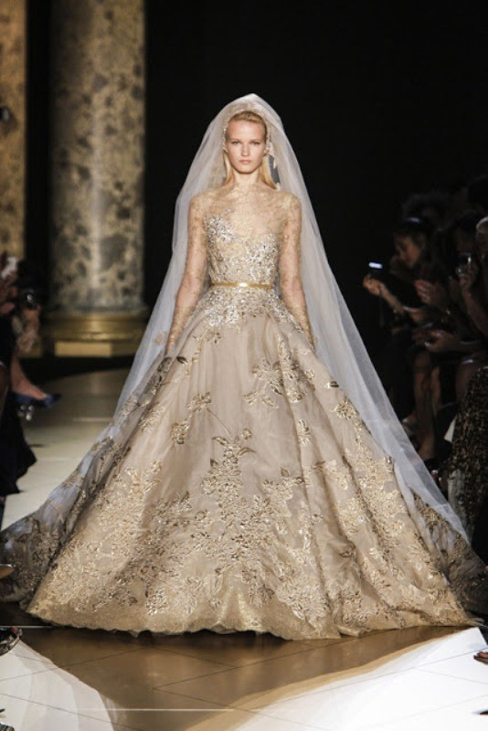 colored-wedding-dresses-2017-105 75+ Most Breathtaking Colored Wedding Dresses in 2020