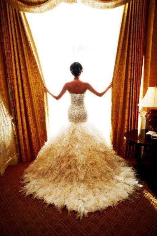 colored-wedding-dresses-2017-112 75+ Most Breathtaking Colored Wedding Dresses in 2020