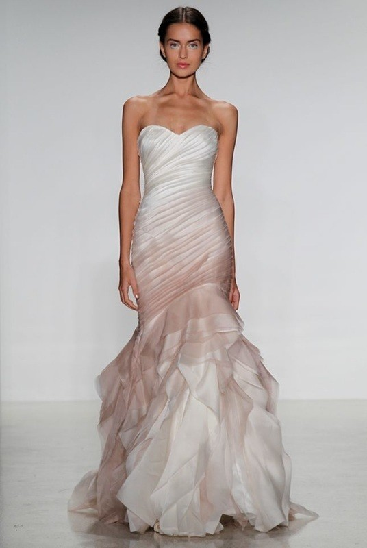 colored-wedding-dresses-2017-115 75+ Most Breathtaking Colored Wedding Dresses in 2020