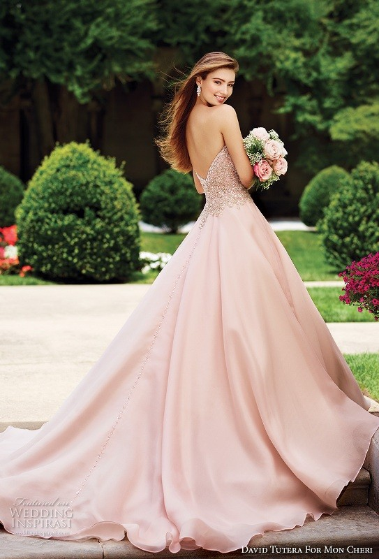 colored-wedding-dresses-2017-118 75+ Most Breathtaking Colored Wedding Dresses in 2020