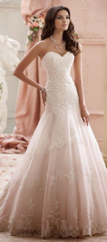 colored-wedding-dresses-2017-12 75+ Most Breathtaking Colored Wedding Dresses in 2020