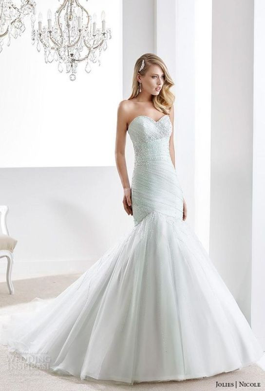 colored-wedding-dresses-2017-120 75+ Most Breathtaking Colored Wedding Dresses in 2020