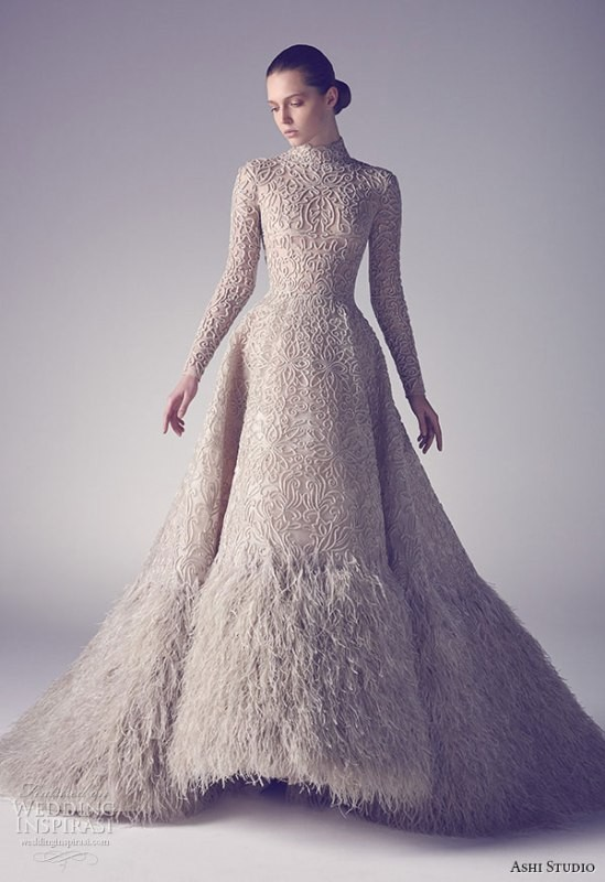 colored-wedding-dresses-2017-123 75+ Most Breathtaking Colored Wedding Dresses in 2020