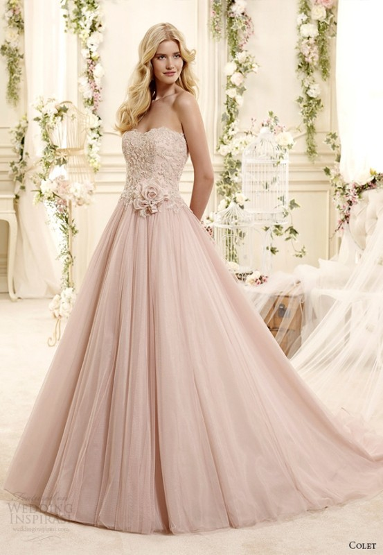 colored-wedding-dresses-2017-125 75+ Most Breathtaking Colored Wedding Dresses in 2020