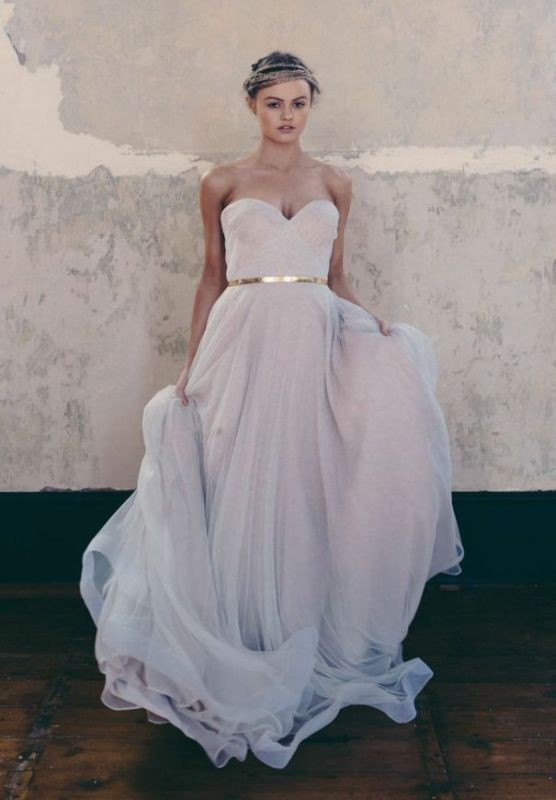 colored-wedding-dresses-2017-126 75+ Most Breathtaking Colored Wedding Dresses in 2020