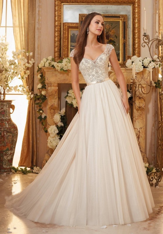 colored-wedding-dresses-2017-128 75+ Most Breathtaking Colored Wedding Dresses in 2017