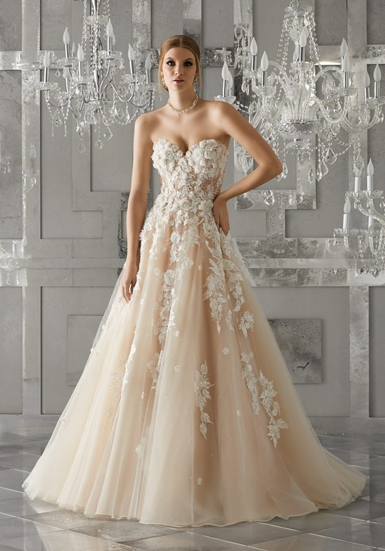 colored-wedding-dresses-2017-129 75+ Most Breathtaking Colored Wedding Dresses in 2020