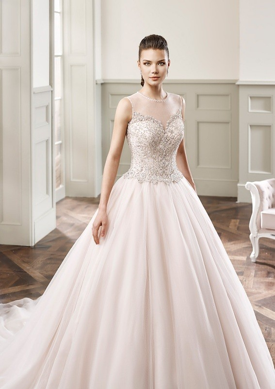 colored-wedding-dresses-2017-132 75+ Most Breathtaking Colored Wedding Dresses in 2020