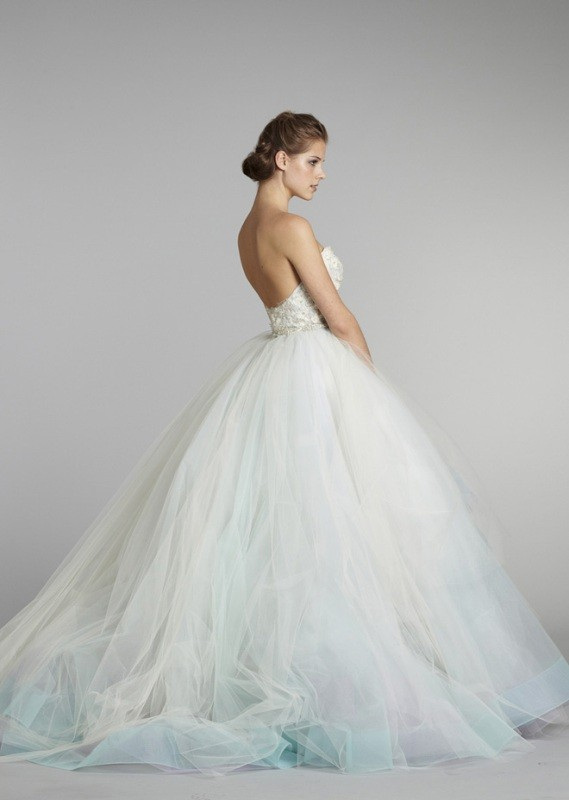 colored-wedding-dresses-2017-133 75+ Most Breathtaking Colored Wedding Dresses in 2020