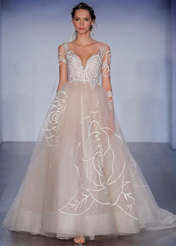 colored-wedding-dresses-2017-135 75+ Most Breathtaking Colored Wedding Dresses in 2020