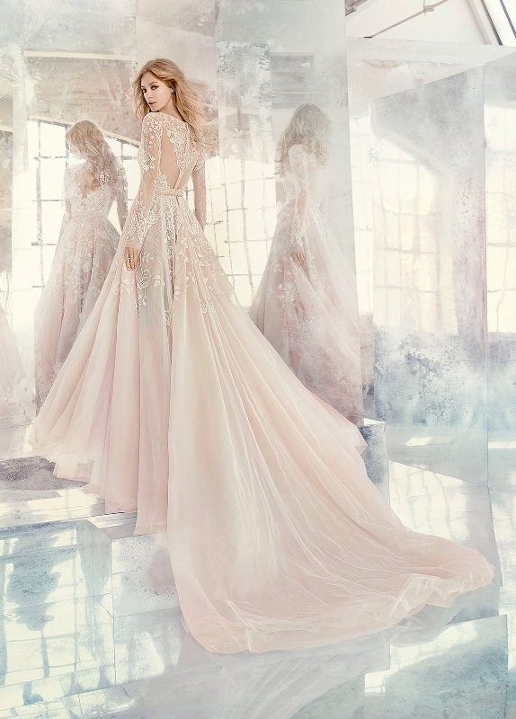 colored-wedding-dresses-2017-139 75+ Most Breathtaking Colored Wedding Dresses in 2020