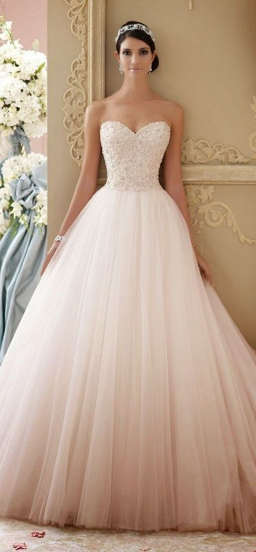 colored-wedding-dresses-2017-14 75+ Most Breathtaking Colored Wedding Dresses in 2020