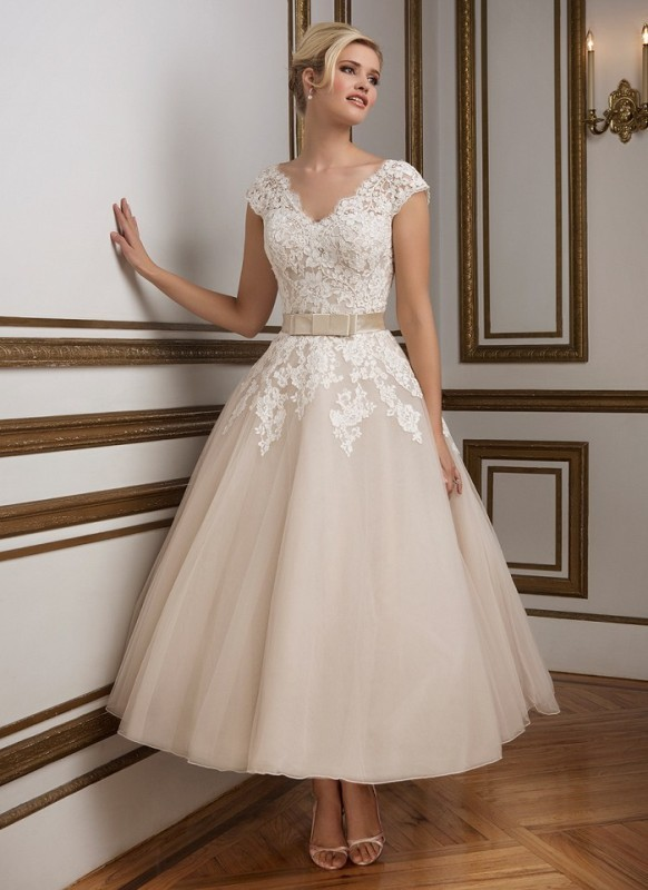 colored-wedding-dresses-2017-143 75+ Most Breathtaking Colored Wedding Dresses in 2020