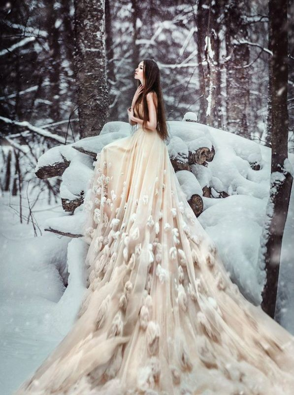 colored-wedding-dresses-2017-145 75+ Most Breathtaking Colored Wedding Dresses in 2017
