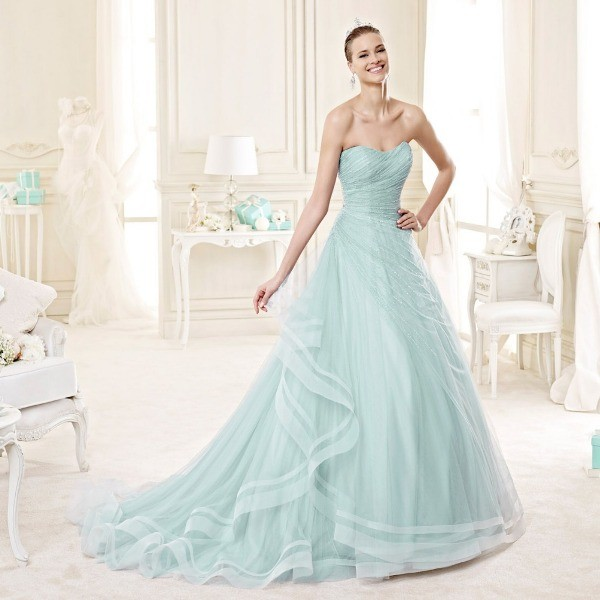 colored-wedding-dresses-2017-147 75+ Most Breathtaking Colored Wedding Dresses in 2020