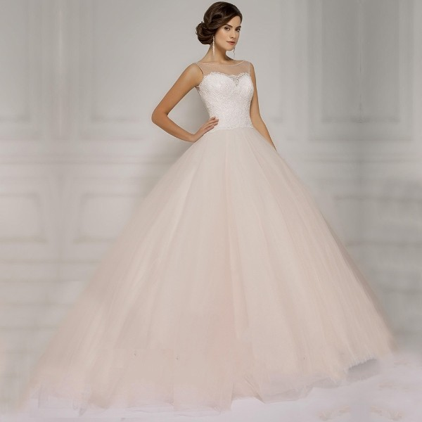 colored-wedding-dresses-2017-149 75+ Most Breathtaking Colored Wedding Dresses in 2020