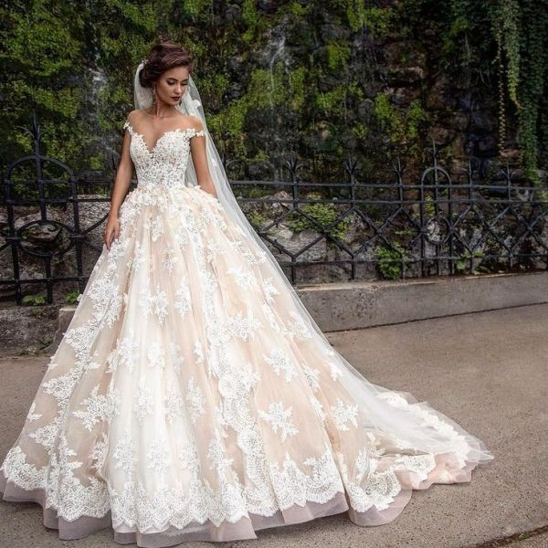 colored-wedding-dresses-2017-150 75+ Most Breathtaking Colored Wedding Dresses in 2020