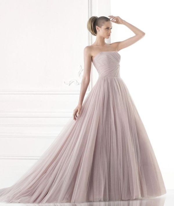 colored-wedding-dresses-2017-151 75+ Most Breathtaking Colored Wedding Dresses in 2020
