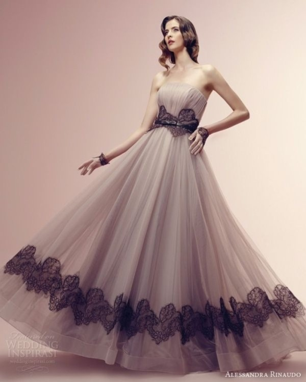 colored-wedding-dresses-2017-154 75+ Most Breathtaking Colored Wedding Dresses in 2020