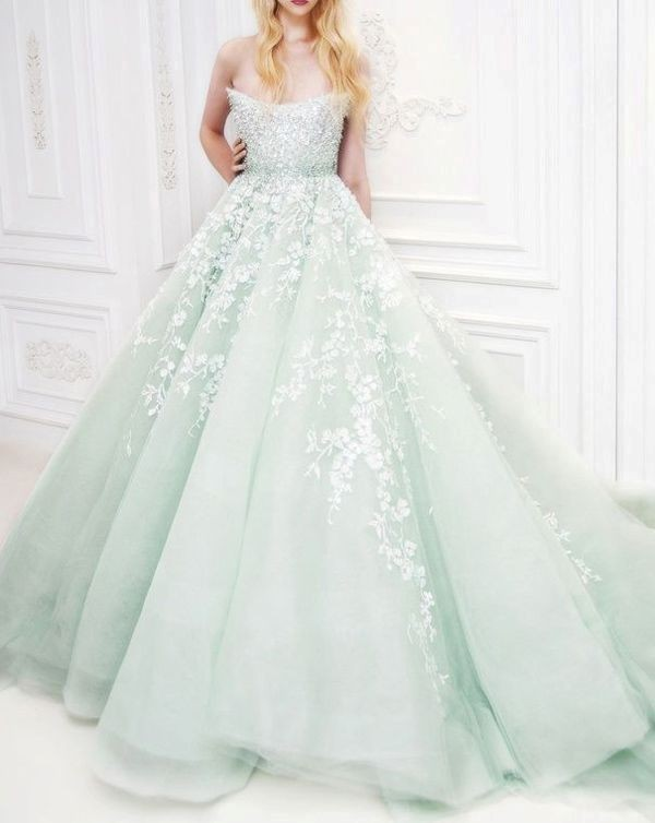 colored-wedding-dresses-2017-155 75+ Most Breathtaking Colored Wedding Dresses in 2020