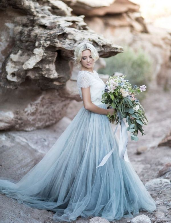 colored-wedding-dresses-2017-158 75+ Most Breathtaking Colored Wedding Dresses in 2020