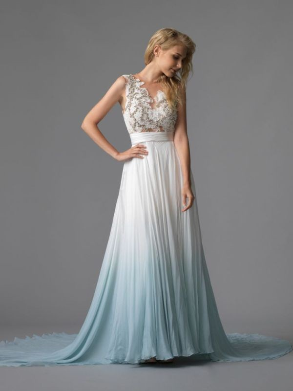 colored-wedding-dresses-2017-161 75+ Most Breathtaking Colored Wedding Dresses in 2020