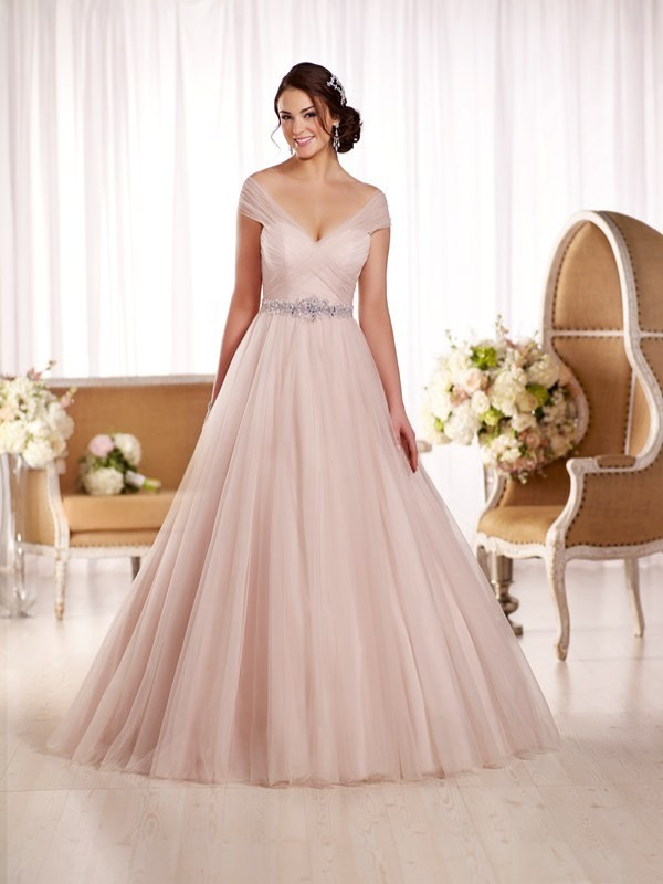 colored-wedding-dresses-2017-165 75+ Most Breathtaking Colored Wedding Dresses in 2018