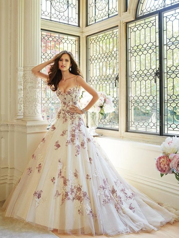 colored-wedding-dresses-2017-166 75+ Most Breathtaking Colored Wedding Dresses in 2020