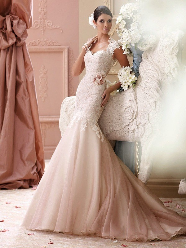 colored-wedding-dresses-2017-167 75+ Most Breathtaking Colored Wedding Dresses in 2020