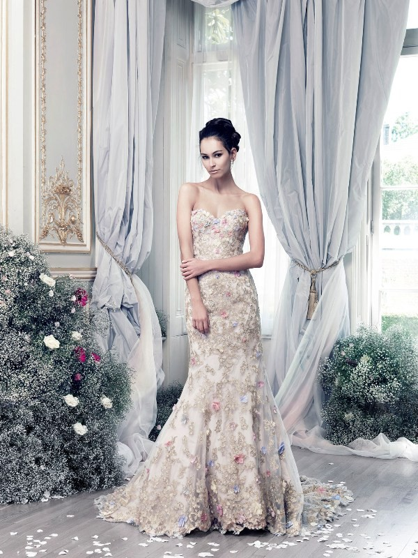 colored-wedding-dresses-2017-169 75+ Most Breathtaking Colored Wedding Dresses in 2020