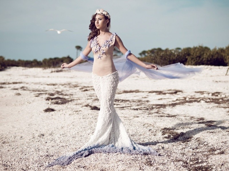 colored-wedding-dresses-2017-173 75+ Most Breathtaking Colored Wedding Dresses in 2020