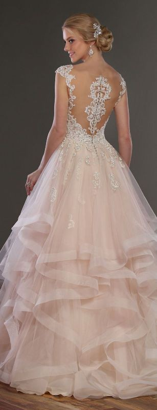 colored-wedding-dresses-2017-2 75+ Most Breathtaking Colored Wedding Dresses in 2018