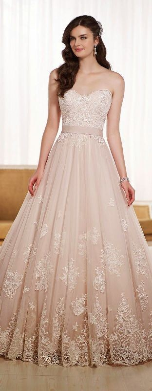 colored-wedding-dresses-2017-3 75+ Most Breathtaking Colored Wedding Dresses in 2020
