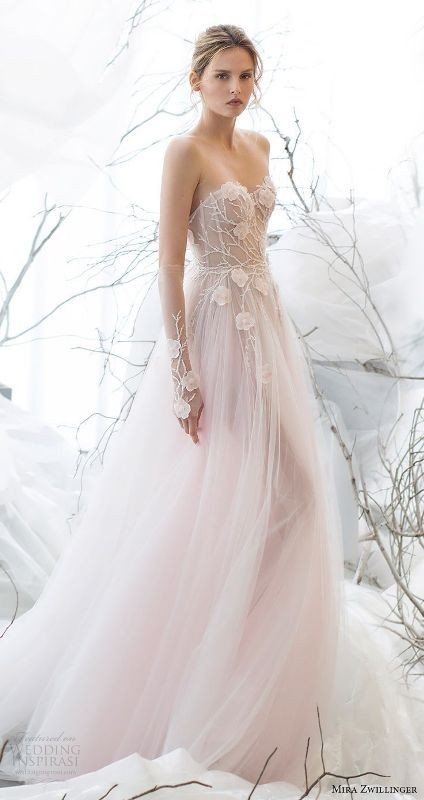 colored-wedding-dresses-2017-31 75+ Most Breathtaking Colored Wedding Dresses in 2020