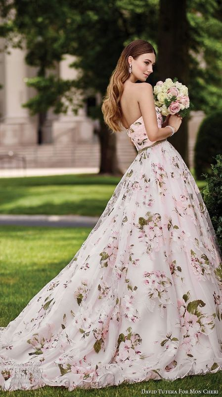 colored-wedding-dresses-2017-33 75+ Most Breathtaking Colored Wedding Dresses in 2020