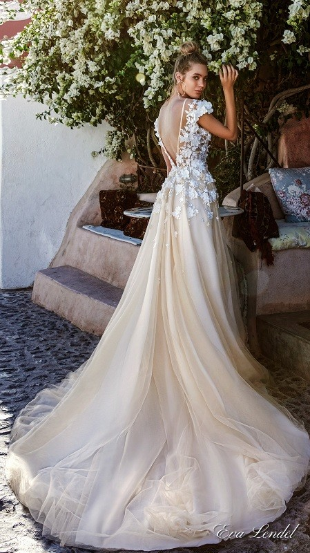 colored-wedding-dresses-2017-36 75+ Most Breathtaking Colored Wedding Dresses in 2017