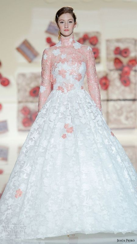 colored-wedding-dresses-2017-38 75+ Most Breathtaking Colored Wedding Dresses in 2020