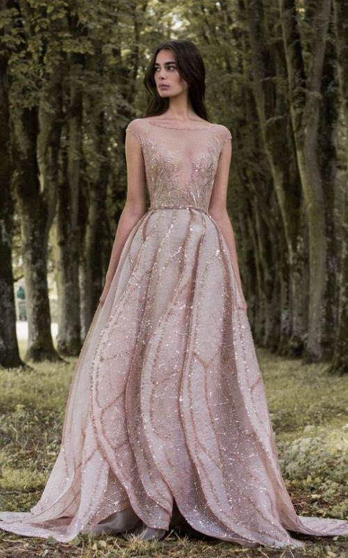colored-wedding-dresses-2017-43 75+ Most Breathtaking Colored Wedding Dresses in 2020
