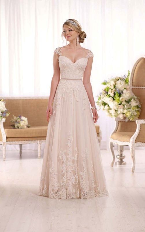 colored-wedding-dresses-2017-45 75+ Most Breathtaking Colored Wedding Dresses in 2020