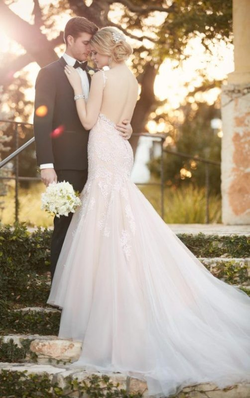 colored-wedding-dresses-2017-47 75+ Most Breathtaking Colored Wedding Dresses in 2020