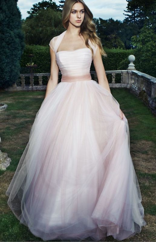 colored-wedding-dresses-2017-51 75+ Most Breathtaking Colored Wedding Dresses in 2020
