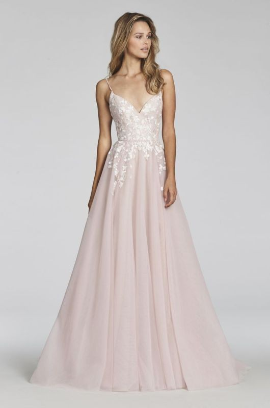 colored-wedding-dresses-2017-54 75+ Most Breathtaking Colored Wedding Dresses in 2020