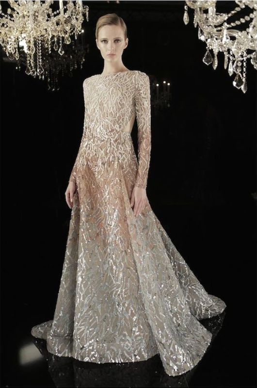 colored-wedding-dresses-2017-55 75+ Most Breathtaking Colored Wedding Dresses in 2020