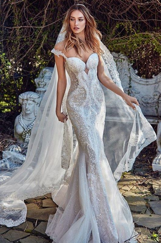 colored-wedding-dresses-2017-56 75+ Most Breathtaking Colored Wedding Dresses in 2020