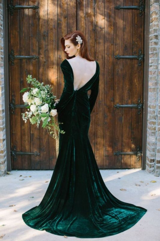 colored-wedding-dresses-2017-58 75+ Most Breathtaking Colored Wedding Dresses in 2020