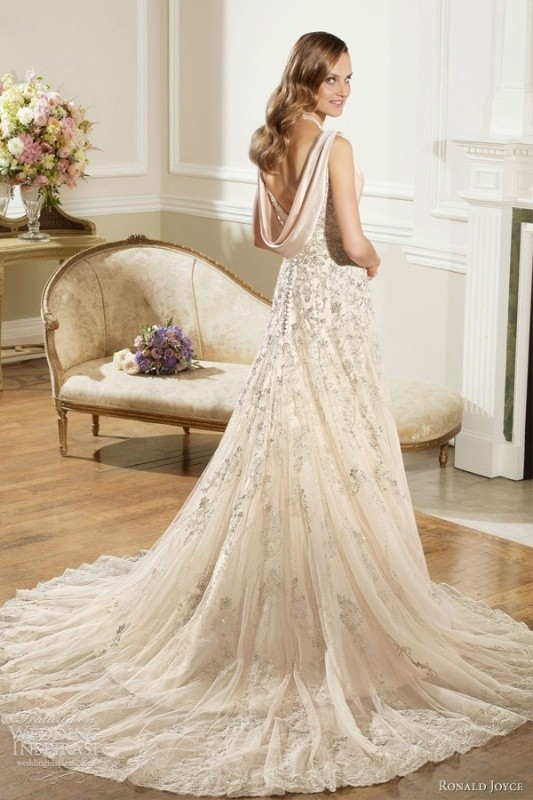 colored-wedding-dresses-2017-59 75+ Most Breathtaking Colored Wedding Dresses in 2020
