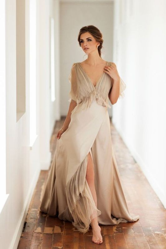 colored-wedding-dresses-2017-63 75+ Most Breathtaking Colored Wedding Dresses in 2020