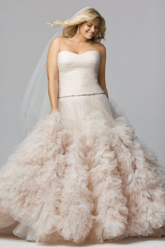colored-wedding-dresses-2017-67 75+ Most Breathtaking Colored Wedding Dresses in 2020