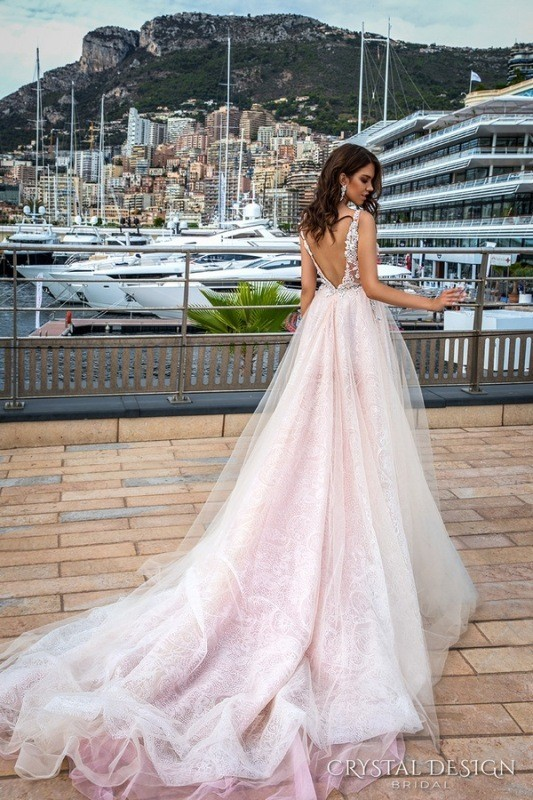 colored-wedding-dresses-2017-71 75+ Most Breathtaking Colored Wedding Dresses in 2020